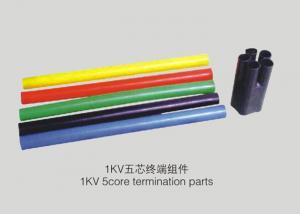 China Isolation imperméable de manchon de câble de rétrécissement de la chaleur de PVC pour les fils électriques on sale