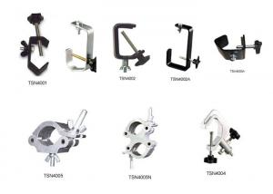 China Aluminum Stage Lighting Parts / Clamps For Disco Light Equipment on sale