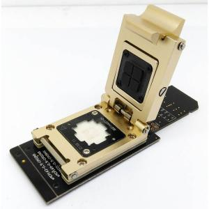 China eMMC test socket to SD Interface Nand flash pogo pin BGA153/169 reader Chip Size 12x16mm Pitch 0.5mm data recovery on sale