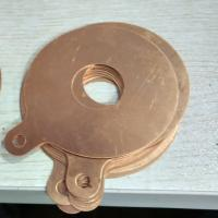 Copper electrode slice for making ultrasonic cleaning and welding transducer