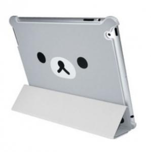 China Stylish Pretty Silver Bear waterproof Smart Cover Case for ipad 2 ipad 3 for kids  on sale
