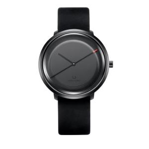 China OEM ODM Private Label Quartz Stainless Steel Watch , Men Sports Watch With Genuine Leather Strap on sale