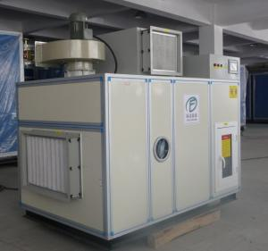 China Energy Saving Silica Gel Dehumidifier Wheel , Steam Regeneration supplier