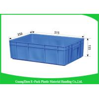 Customized Plastic Storage Trays 100% New Pp Light Weight Nested Freely HDPE