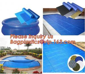 China Outdoor Bubble Solar Pool Cover Swimming Pool Winter Polycarbonate Solar Swimming supplier