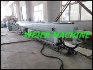 China 55kw drive motor conical double screw extruder machine for PVC pipe on sale