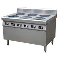 China 21 kw induktionspis 6 plattor 6*3.5KW Commercial Induction Cooker Easy Clean Fully Modular on sale