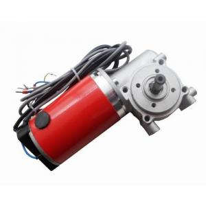 China DC gear motor for sliding Door Motor, red with encoder 24VDC 60W on sale