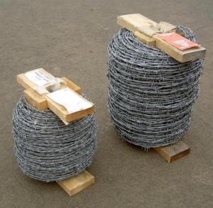 China Mile Steel Barbed Wire,Barbed Tape,Thorny Wire Fence,High Tensile Razor Barbed Wire on sale