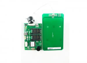China 13.56 MHz Contactless RFID Card Reader With USB Interface , IC Card Reader on sale