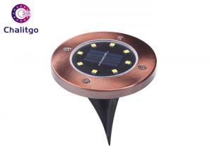 China Ground Path Solar Powered Yard Lights Driveway Lawn Pond Pool Pathway Night Lamp on sale
