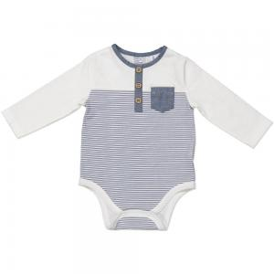 China Unique Design Soft Fabric Infant Long Sleeve Onesie For Newborn Baby Infant on sale