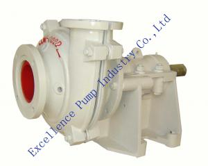 China ELM-100D high chrome lined abrasion resistant slurry pumps with Metal lined on sale