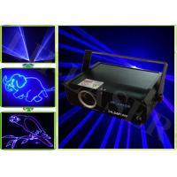 China High Power Laser Show Lights Sound-Active 1w ILDA Blue ILDA Disco Animation Blue Laser Light on sale