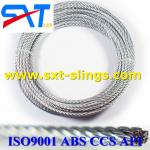 ungalvanized steel wire rope slings exporter 8*19S+IWR
