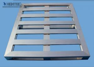 China Anodize / Powder Painted Aluminium Frame System Fully Nestable Pallet on sale