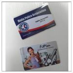 Печатание карты пвк пластмассы дела, пластиковая печать визитных карточек пвк