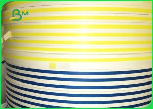 China 100% Bio-degradable Custom Printed Coloured Paper Straw Making Paper For Drinking on sale