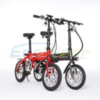 Easy Foldable Brushless Electric Bike 14 inch Foldable Electric Bikes For Adults