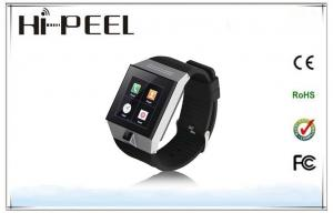 China Dual Core Auto Recording Mobile Phone Android Watch Phone With Bluetooth Wifi on sale