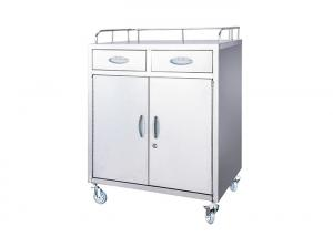 China Stainless Steel Medical Medicine Trolleys Cart For Hospital Patient on sale