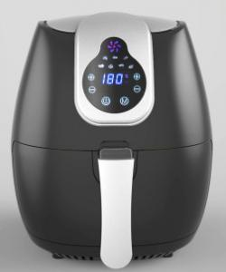 China Air Fryer EMAF007, 4.0L Non-stick coating metal pan, 1500W, 30 minutes timer,LED display with touch screen on sale