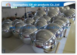 China Silver Mirror Balloon inflatable Holiday Decorations For Concerts / Clubs on sale