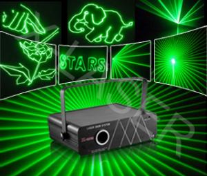 China 1000MW higher power green animation laser light on sale