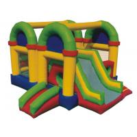 Custom Outdoor Inflatable Bouncy Castle Fire Retardant For Childrens