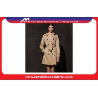 Waterproof fashion Ladies Windbreaker Coats and Jackets Khaki or Black