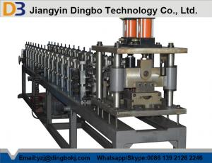 China Hydraulic Shutter Door Roll Forming Machine Galvanized Cold Steel Shop Slat Roller on sale