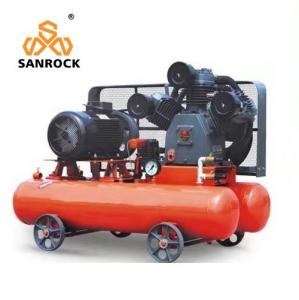 China Red Silent Diesel Engine Driven Air Compressor Drilling Air Compressor 0.5mpa on sale