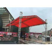 Mobile Aluminum Stage Truss , DJ Light Stand Truss 400x400 Millimeter Size