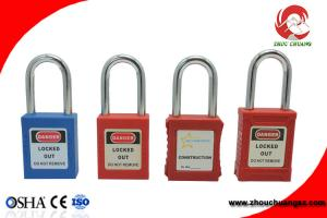 China Elecpopular OEM  High Quality Steel and Nylon Shackle Safety Padlocks on sale