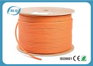 China 600 MHz Cat 7 Cable 1000 FT , Cat 7 Shielded Ethernet Cable HDPE Insulation on sale