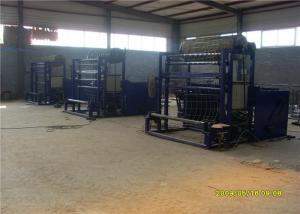 China Goat Farm Fencing Machinery , Grassland Protecting Fence Making Equipment on sale