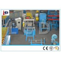 Pallet Rack Roll Forming Machine With Punching 15 Meters / Min Hydraulic Profile Cutting