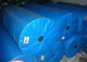 China Moisture Proof Polypropylene Woven Fabric Roll , Offset Printing Woven Poly Fabric on sale