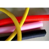 China Non Cracking Flexible Corrugated Tubing / Multi Colors 4 Inch Corrugated Pipe on sale