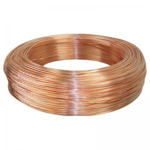 China Pancake Coil Copper Pipe Seamless Coil Copper Tube for Air Conditioning and Refrigeration Field Service on sale
