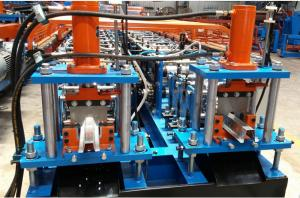 China Twins Light Steel Keel Roll Forming Machine , Hat Ceiling Metal Forming Machines on sale