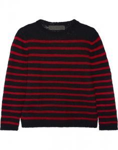 China cashmere sweater striped women sweater on sale