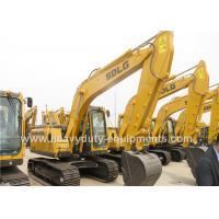 FOPS Cabin Hydraulic Crawler Excavator Dipper Arm LGW6150E 120kw Engine