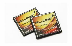 China High Speed 165MB/s Compactflash Memory Card 128GB , W30PCFMC-128 on sale