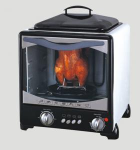 China 18L Vertical rotisserie oven kitchen electric oven with BBQ on sale