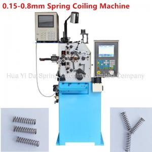 Quality Custom CNC Spring Machine / Spiral Spring Machine For Wire Size 0.8mm for sale
