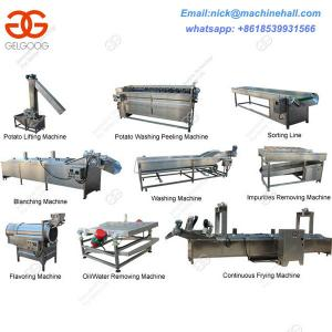 China Easy Operate Potato Chips Production Line|Potato Chips Production Line Price|Potato Chips Production Line for Sale on sale