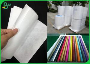 China Purely Fabric Waterproof Tyvek Printer Paper Roll For Bag Material on sale