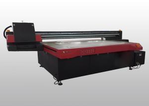 China Home Decoration Wood UV printing Equipment With Ricoh GEN5 And Varnish Printing on sale