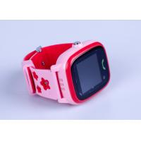 3 Colors Portable GPS Tracker , Interaction Touch Screen GPS Tracker Watch For Family